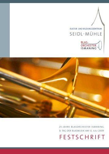 Festschrift BLORIS - Blasorchester Ismaning