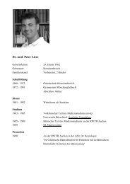 Dr. med. Peter Lierz