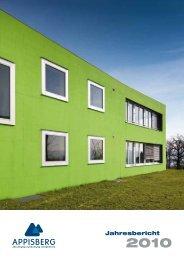 Jahresbericht 2010 - Appisberg