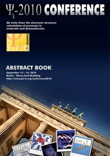 Abstract Book - Theory Department of the FHI - Max-Planck ...