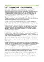 Praxis-Foren und Key-Notes als Publikumsmagneten - SoFIND.de