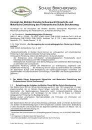 Mobiler Dienst KME - Schule Borchersweg