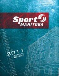 2011 Annual Report - Sport Manitoba