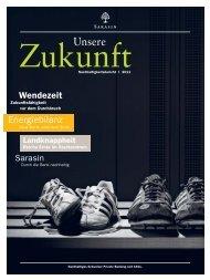 Nachhaltigkeitsbericht 2011 - Bank Sarasin & Cie AG