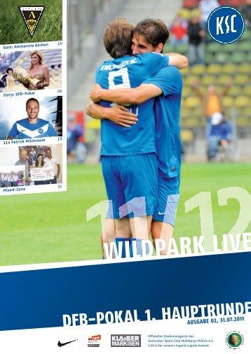 DFB-POKAL1. HAUPTRUNDE - Karlsruher SC