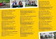 Entwurf Flyer Jugendprogramm 2010 - der Familie Bahnsen