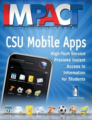 Mobile Apps Give Students Instant Access to Information - University ...