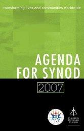 26218 Agenda 2004_text.qxp - Christian Reformed Church
