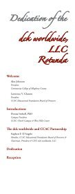 Dedication Ceremony Program - Community College of Allegheny ... - Page 3