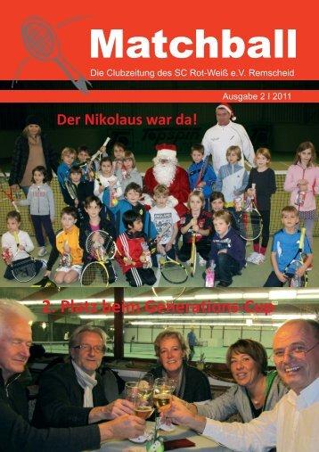 Clubzeitung 2, 2011 - Rot Weiss remscheid