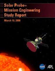 Mission Engineering Study Report - Solar Probe - Nasa