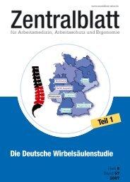 Die Deutsche Wirbelsäulenstudie - Deutsche Gesetzliche ...