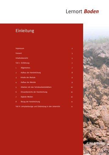 """Handreichung """"Lernort Boden"""" - Bayerisches Staatsministerium für ..."""
