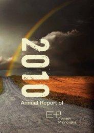 Annual Report of - Elektro Primorska