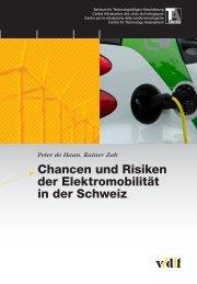 Chancen und Risiken der Elektromobilität - vdf Hochschulverlag AG ...