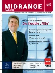 "Die flexible ""FiBu"" - Midrange Magazin"