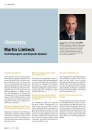 Characters: Martin Limbeck