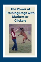 The Power of Training Dogs with Markers or Clickers - Leerburg