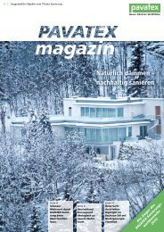 Magazin als PDF - PAVATEX
