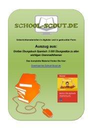 Großes Übungsbuch Spanisch: 3 000 Übungssätze ... - School-Scout