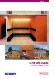 Leno-Massivbau: Individuell Bauen mit System