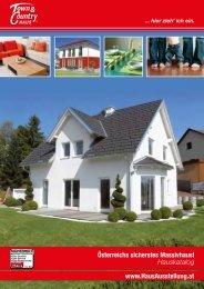 Österreichs sicherstes Massivhaus! www.HausAusstellung.at ...