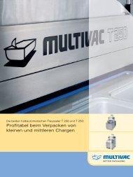 Profi tabel beim Verpacken von kleinen und mittleren ... - Multivac