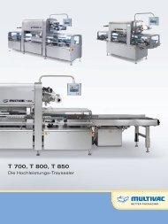 Traysealer T 700 / T 800 / T 850 - Multivac
