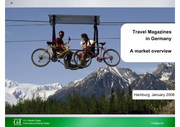 Travel Magazines in Germany A market overview - Blei