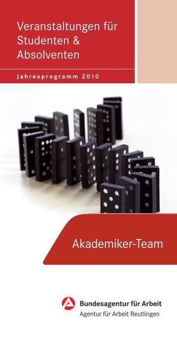 Akademiker-Team - Universität Tübingen