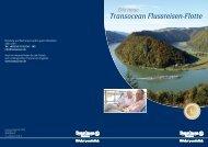 Die neue Transocean Flussreisen-Flotte