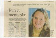 Fyens Stiftstidende 20. april 2003 - Eileen Klitvad