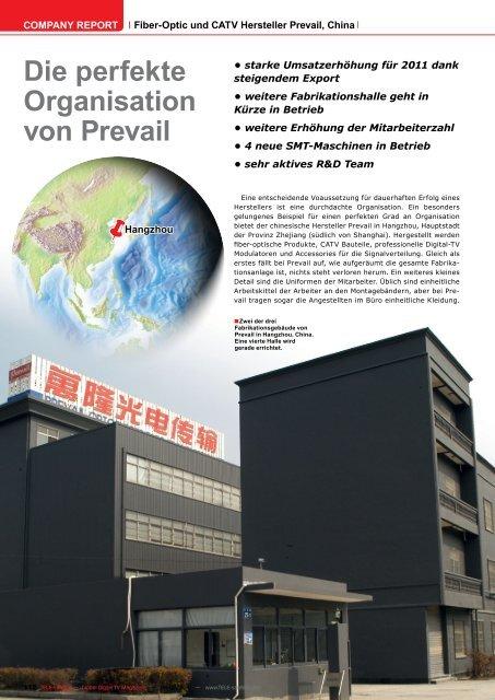 Die perfekte Organisation von Prevail - TELE-satellite International ...