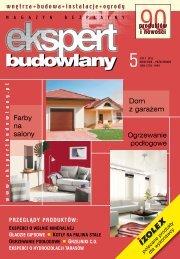 Ekspert Budowlany nr 5/2011