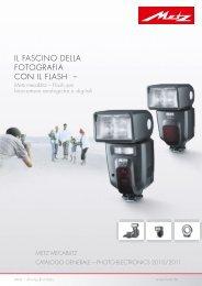 Il FasCIno Della FotoGraFIa Con Il FlasH – - Metz
