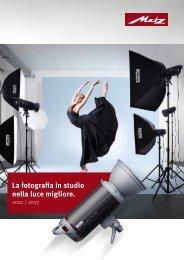 La fotografia in studio nella luce migliore. - Metz