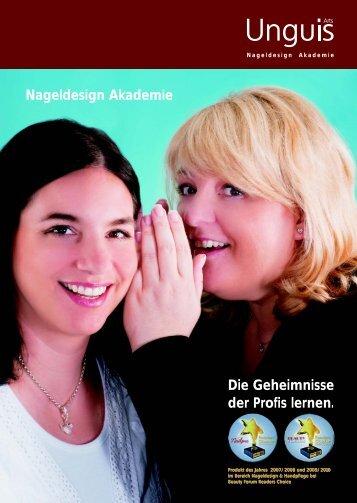 Nageldesign Akademie Die Geheimnisse der Profis lernen.