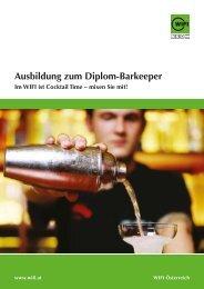 ausbildung zum Diplom-Barkeeper - Wifi