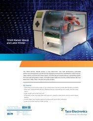 T3124 Marker Sleeve and Label Printer - IBH Elektrotechnik GmbH