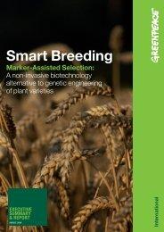 Smart Breeding - Greenpeace