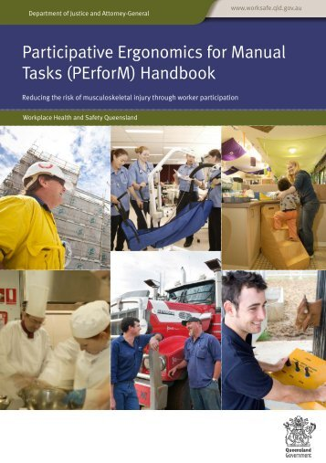Participative Ergonomics for Manual Tasks PErforM Handbook