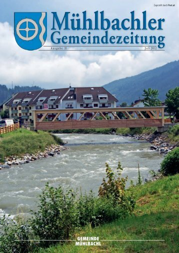 Gemeindezeitung Nr. 31 vom Juli 2012 (4,56 - Mühlbachl - Land Tirol
