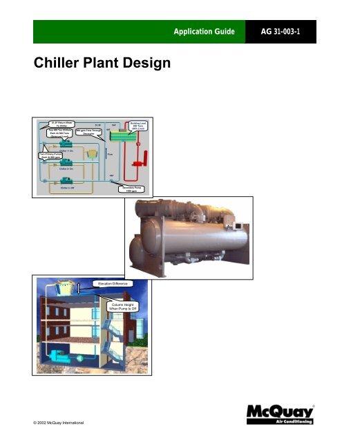 AG 31-003-1 Chiller Plant Design - 3187 - McQuay International