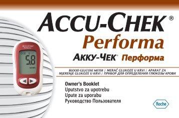Accu-Chek Performa Manual