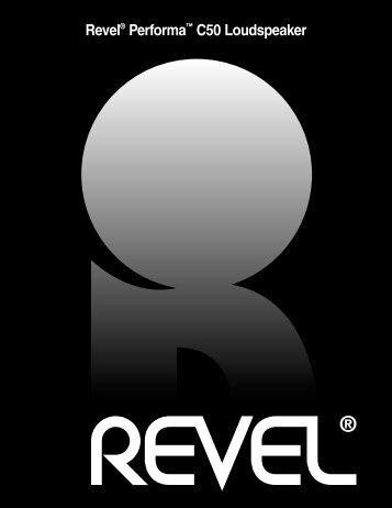 PERFORMA C50 loudspeaker - Revel