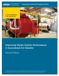 Improving Steam System Performance: A Sourcebook for Industry ...
