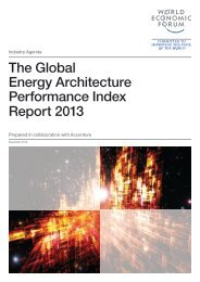 The Global Energy Architecture Performance Index Report 2013 ...