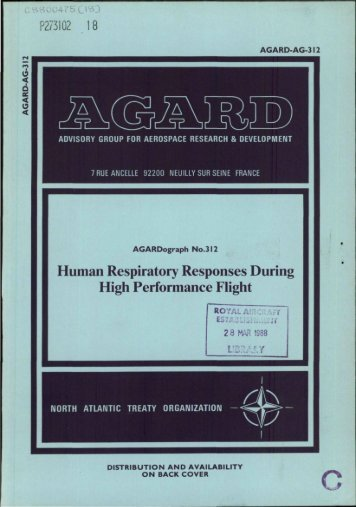 human respiratory responses during high performance flight
