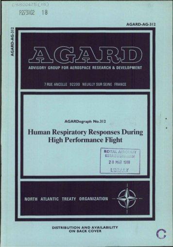 human respiratory responses during high performance flight