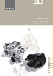 2011/2012 Lenkungspumpen Steering Pumps